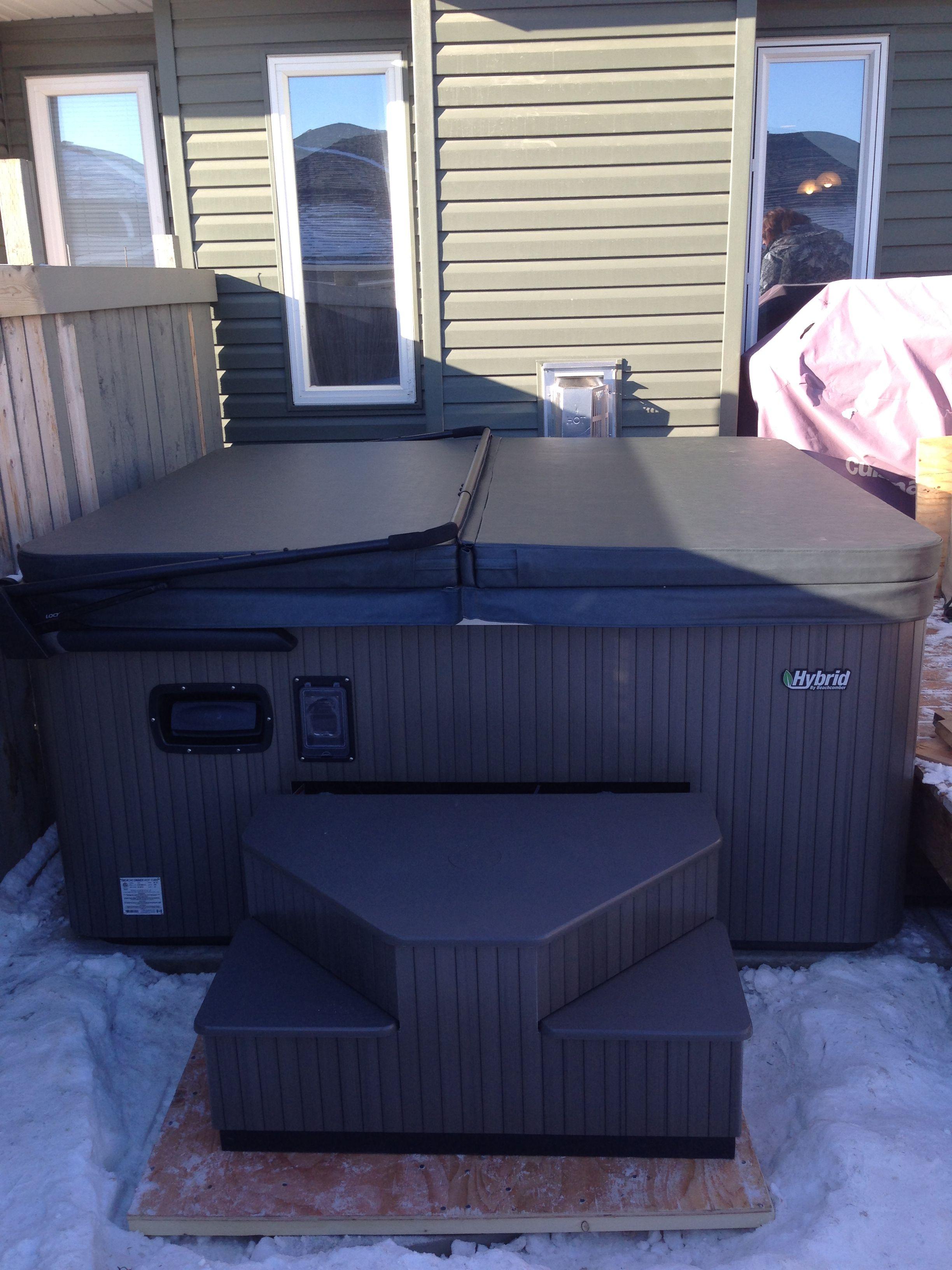 Hot Tub Delivery Hot tub delivery, Hot tub, Outdoor storage