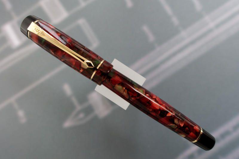 CONWAY STEWART CORONET Poinsetta Fountain Pen