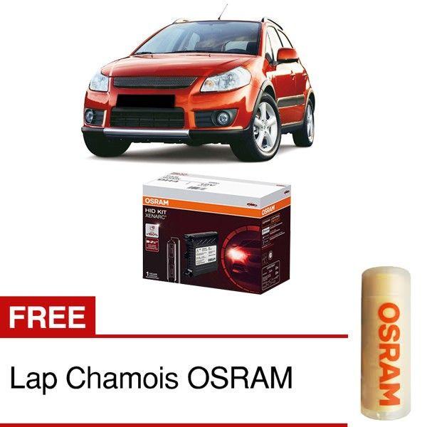 Jual Osram Lampu Mobil Suzuki X Over Hid Convertion Kit Dh4 P43t