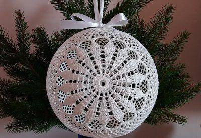 Bombki Szydelkowe Choinka Gwiazdki Ozdoby 6490390708 Oficjalne Archiwum Allegro Christmas Crochet Patterns Christmas Crochet Crochet Ornaments
