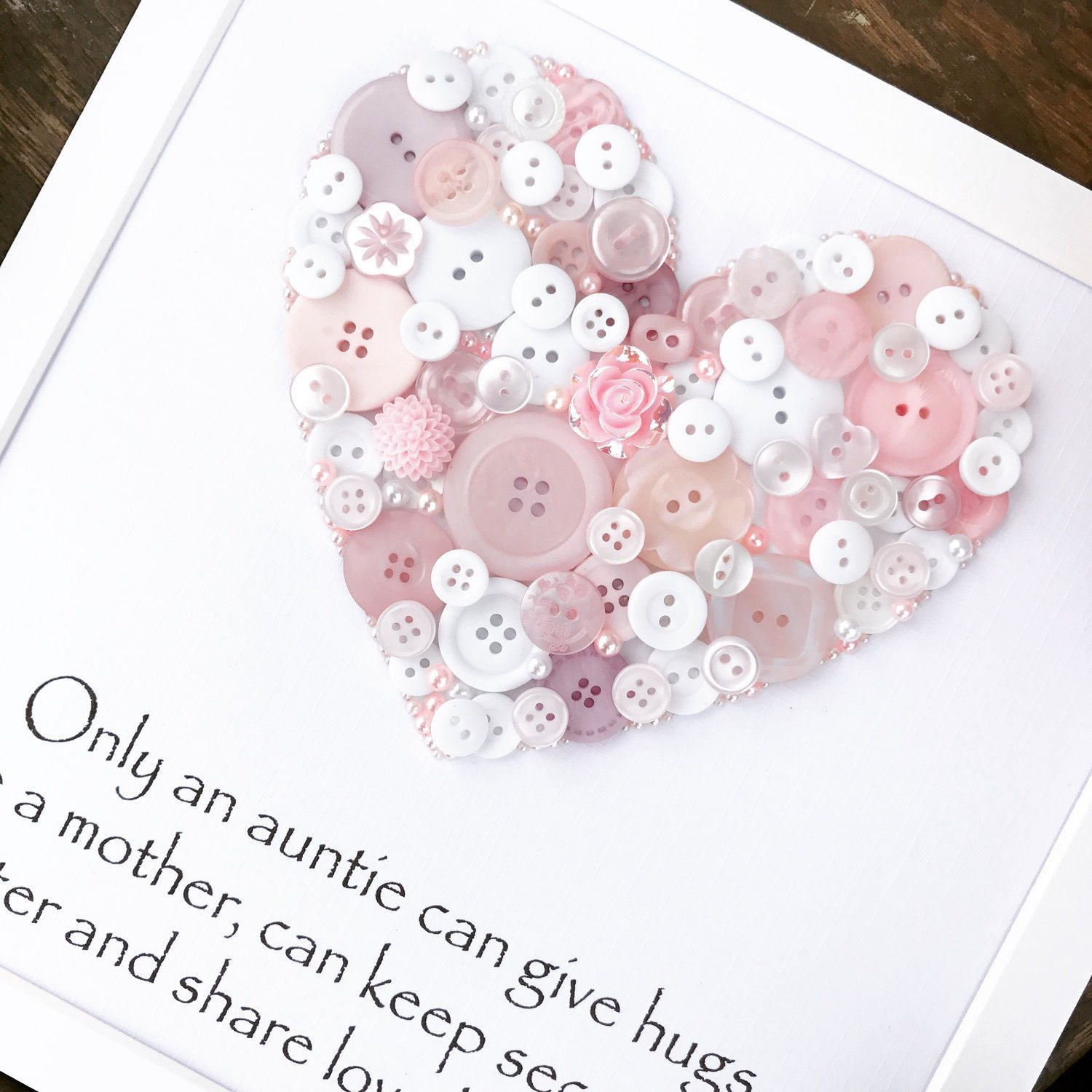Personalised Auntie Gift ~ Aunt Gift ~ Thank you Auntie ~ Best Aunt ...