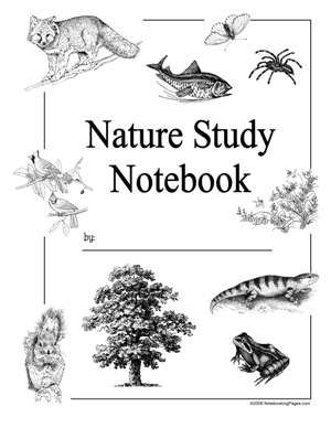 Nature Study Printables including animals, weather, border