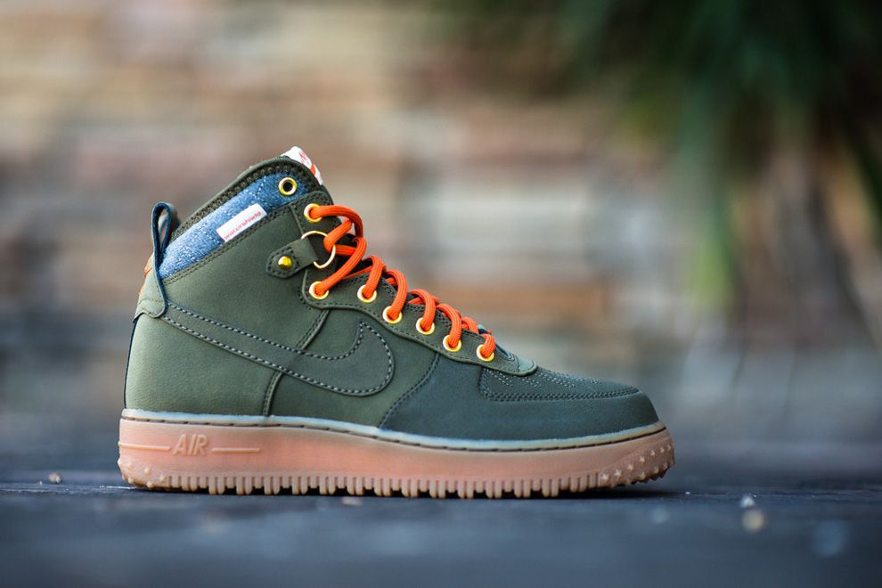 nike air force 1 duckboot dark loden