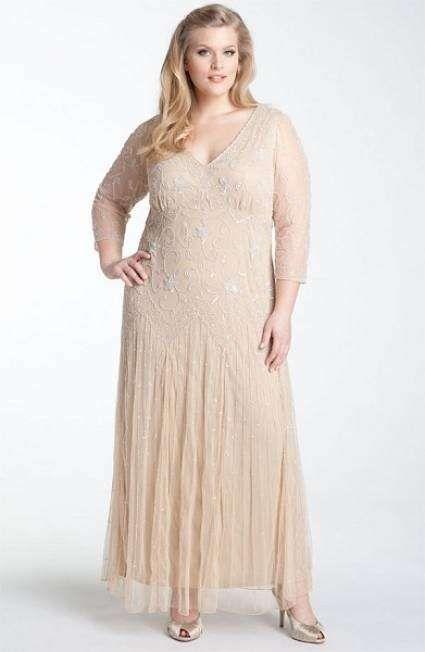 Modelos de vestidos de fiesta talla plus