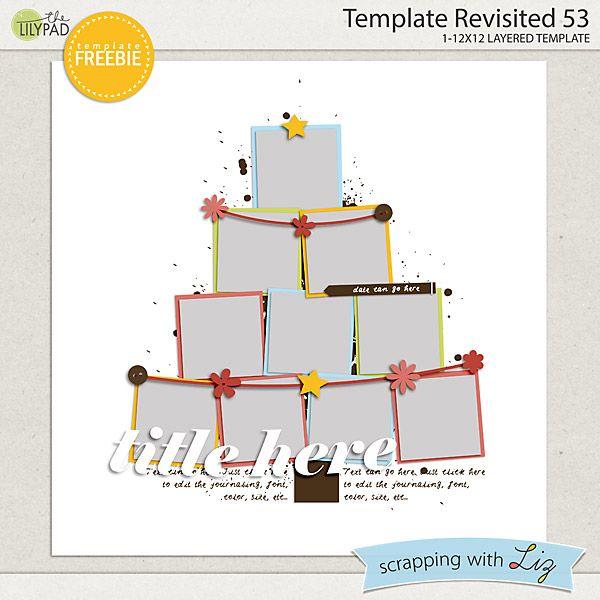 December Blog Template Challenge! | Scrapping with Liz | Bloglovin'