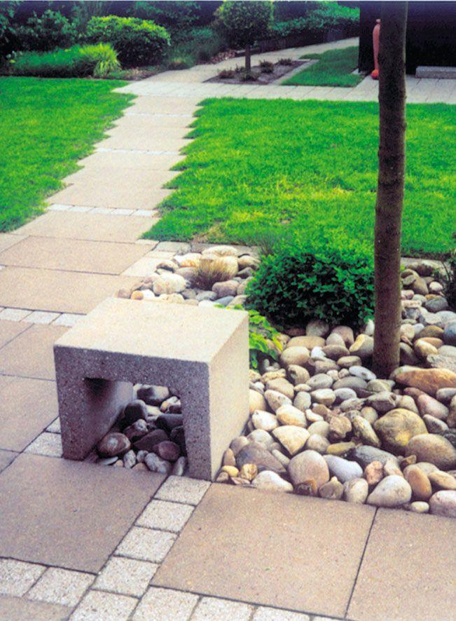 U- / L-Steine | Hang- und Randbefestigung | Produkte | Terrassenplatten, Pflastersteine, Gartenmauer, Stufen