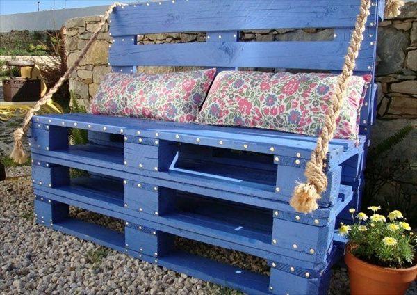 paletten bank schlafzimmer furniture decor pallet. Black Bedroom Furniture Sets. Home Design Ideas