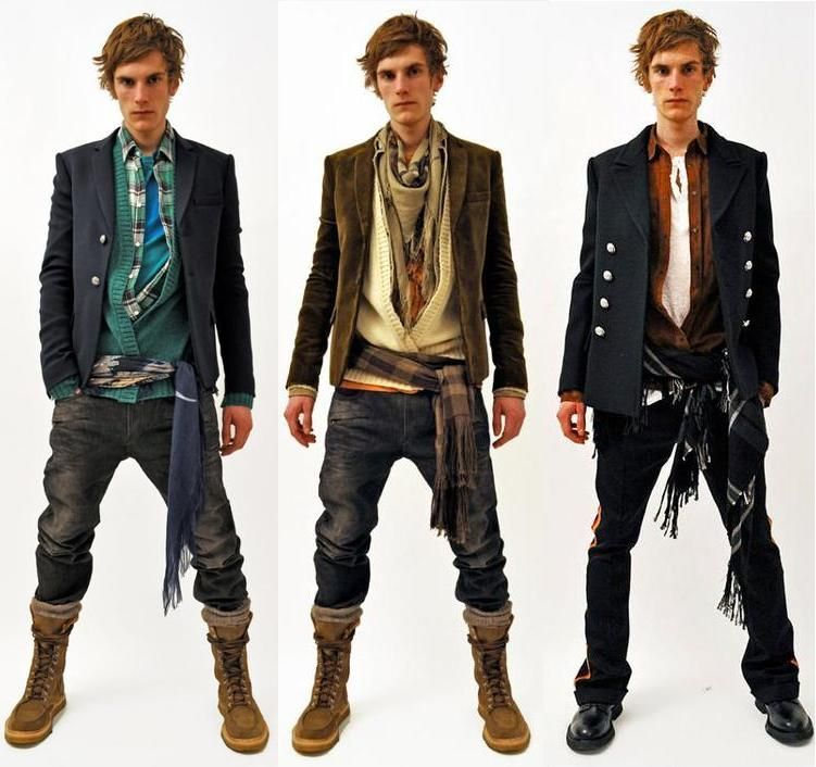 Balmain Homme Fall/Winter 11. I canu0026#39;t handle how much I love this look! | BADASS MENS STYLE ...