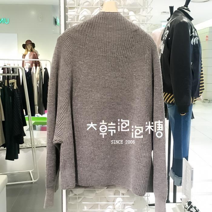 【大韩泡泡糖】G-CUT 韩国专柜代购 72164-50004 2016年秋 针织衫-淘宝网全球站