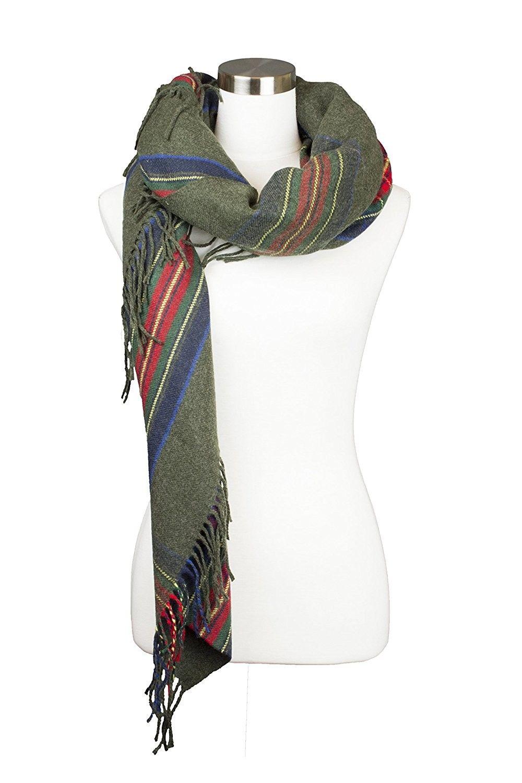 19bbb4a1627f2 Fall Winter Women's Scarf Various Pattern Styles - 7210-green - CK185EN58NQ  - Scarves & Wraps, Fashion Scarves #SCARVES #WRAPS #fashionwomen #outfit ...
