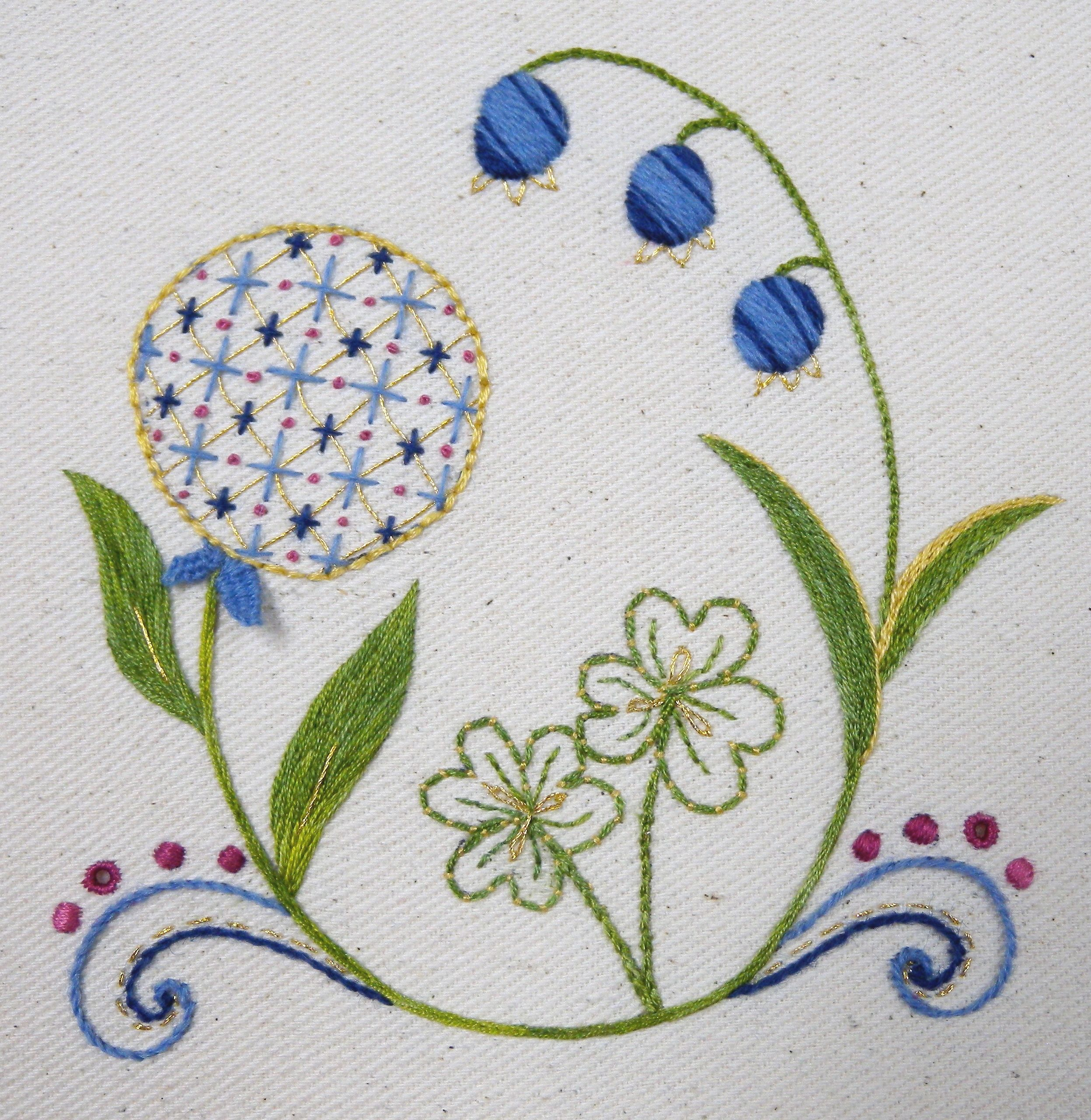 french embroidery | SAN FRANCISCO- Introduction to Embroidery (Code ...