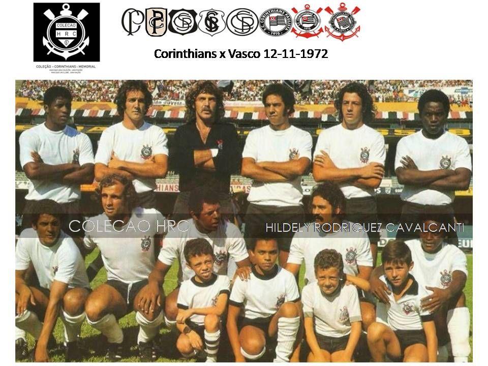 Corinthians 1972 Corinthians X Vasco Campeonato Brasileiro Zagueiro