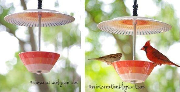 arquitrecos - blog de decoração: Projetinho Fim de Semana - Comedouro fofo para os passarinhos da minha janela
