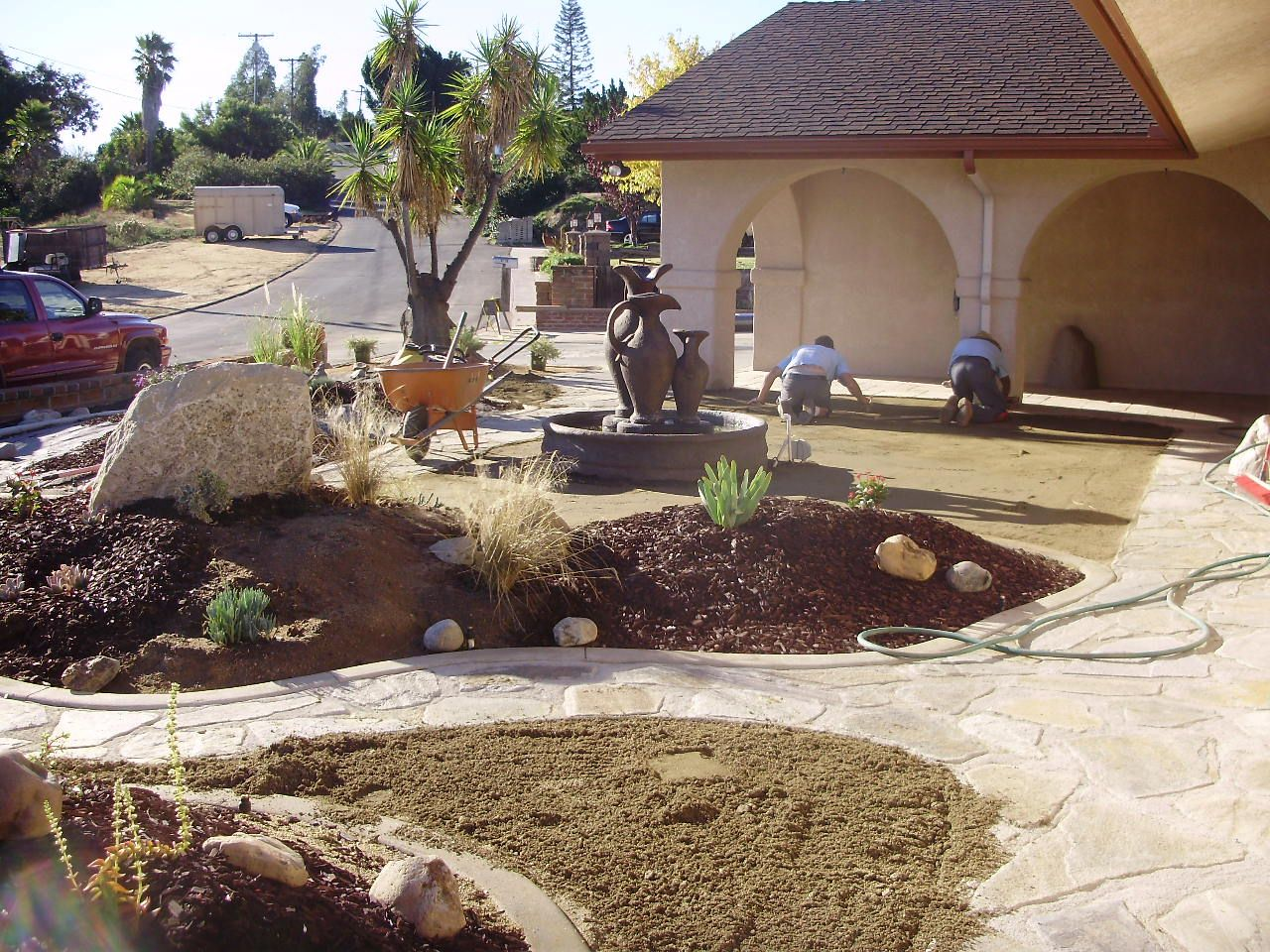 no grass front yard in southern california - Google Search ... on No Grass Yard Ideas id=50602