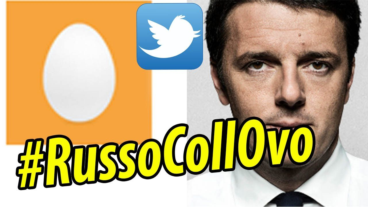 #RUSSOCOLLOVO  Matteo Renzi su Twitter Spopola tra i Russi collovo