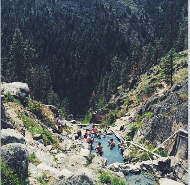 skinny dipper hot springs idaho map Skinny Dippers Hot Springs Idaho Idaho Travel Idaho Hot