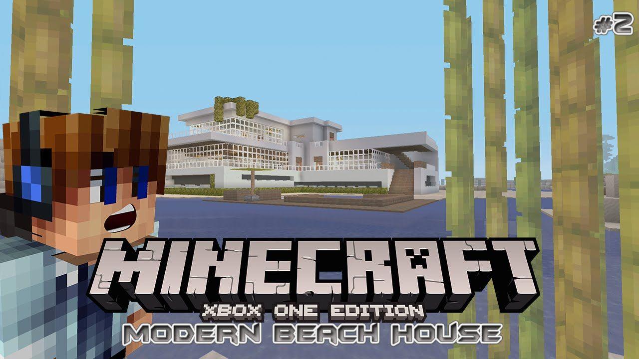 Minecraft Xbox One - Modern Beach House Tutorial Part 2