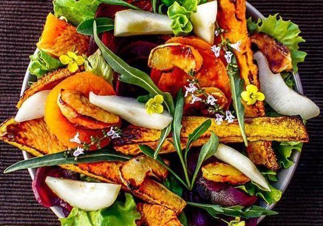 Salade d'automne : nos meilleures idées de salades d'automne pour profiter de la saison - Elle à Table #saladeautomne