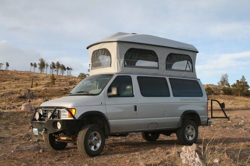 Colorado Camper Van With Aluminess Front And Rear Bumper