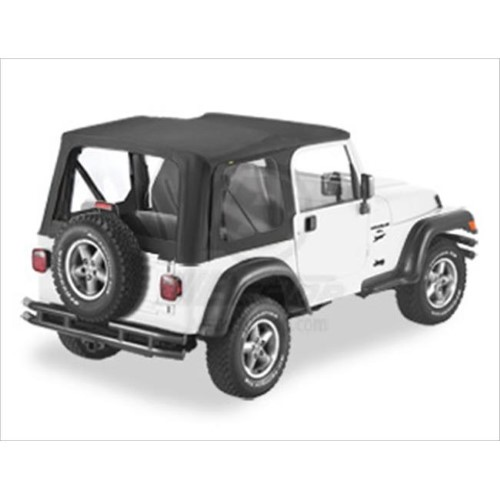 Bestop 5117835 Replace A Top For Wrangler 2003 2006 Black Jeep Jeep Wrangler Black Jeep Wrangler