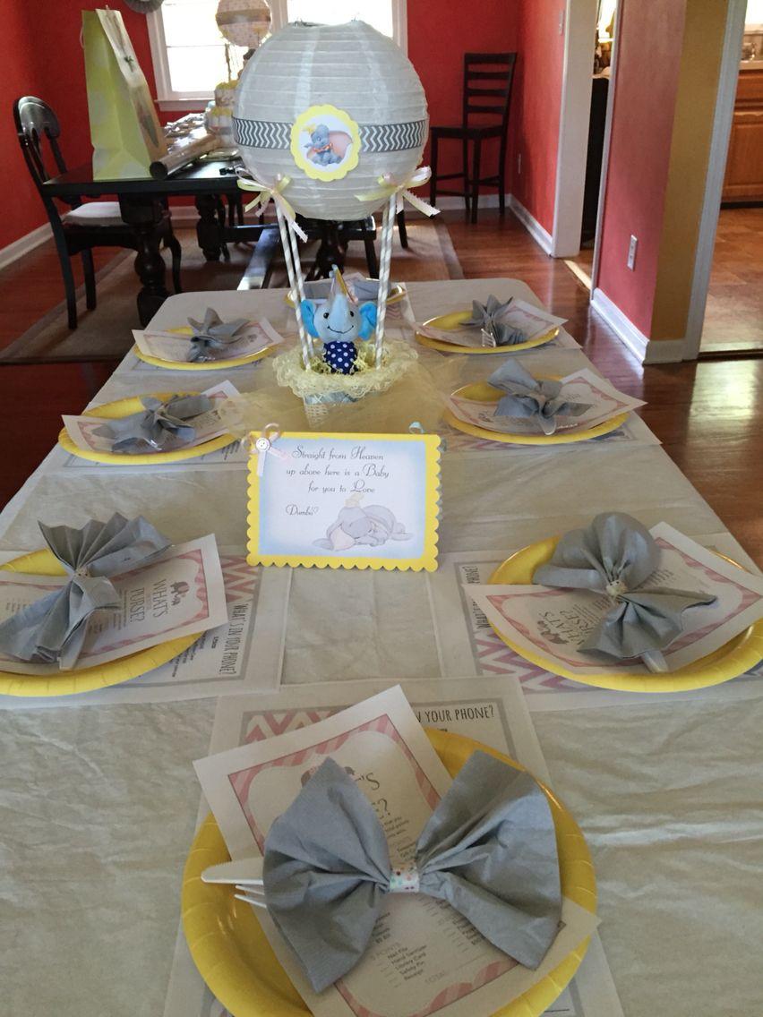 Mildred Molina Dumbo Baby Shower Dumbo Baby Shower Dumbo Baby Shower Theme Baby Shower Balloons