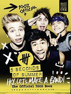 5SOS Untitled THEIR BOOK!!!!!