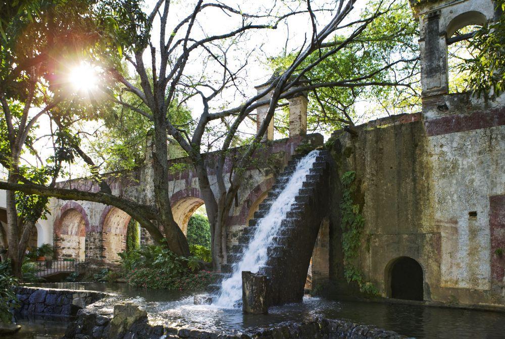 Waterfall in Hacienda Cocoyoc #Morelos #Mexico #Nature