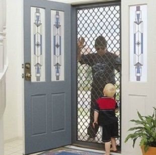Security Screen Doors Are Designed To Let You Enjoy Cool Breezes And Enjoy The Feeling Of Fresh Air While Ma Security Door Home Security Tips Diy Home Security