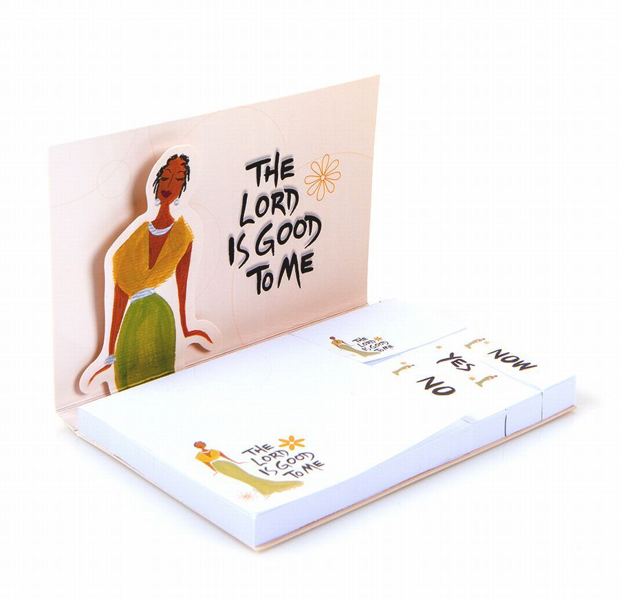 The Lord Is Good To Me Sticky Note - Multiple Size Sticky Note Set
