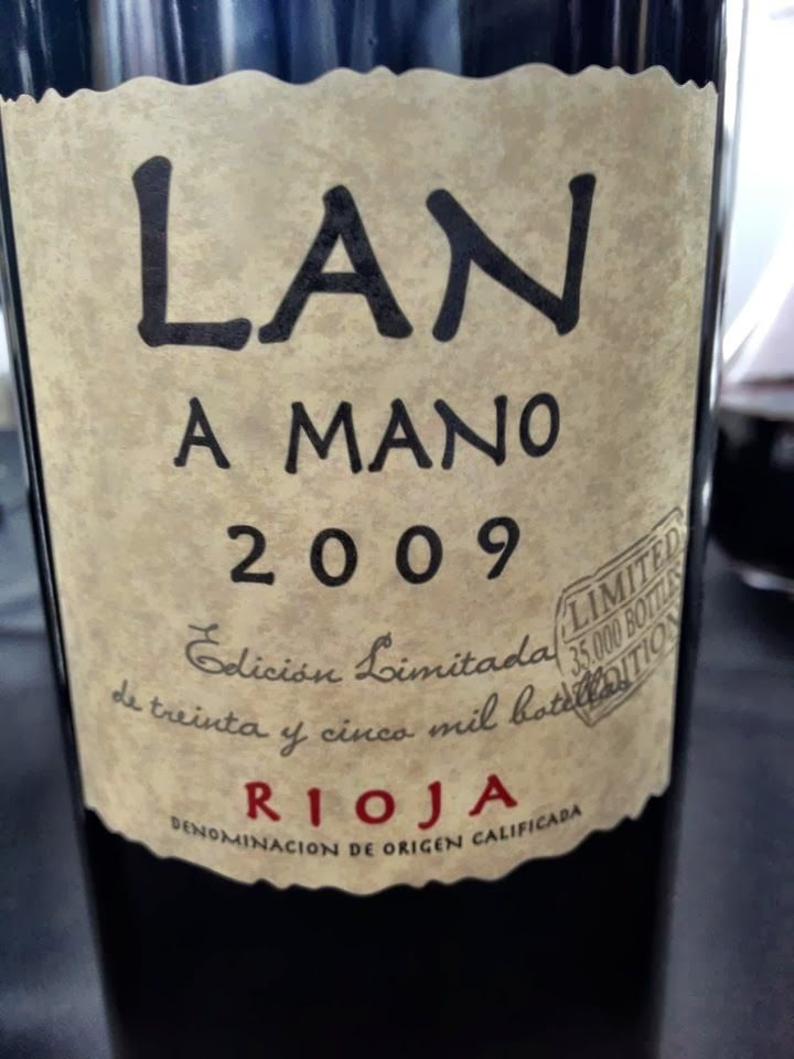 El Alma del Vino.: Bodegas LAN A Mano 2009.