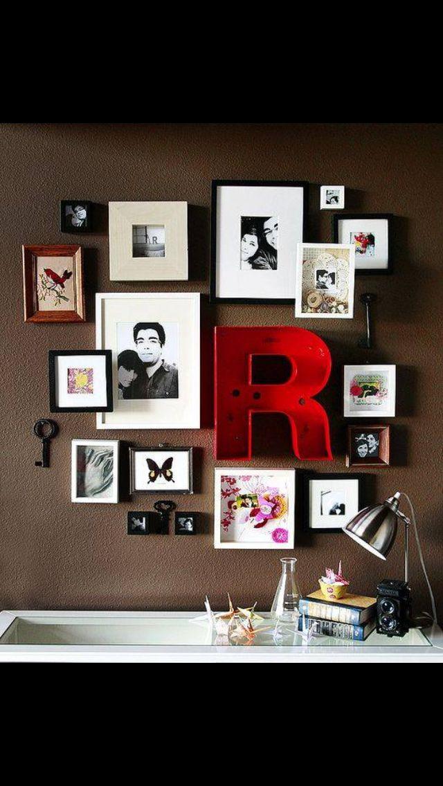 Escritorio #frame #wall   Arrangements   Pinterest   Escritorios ...