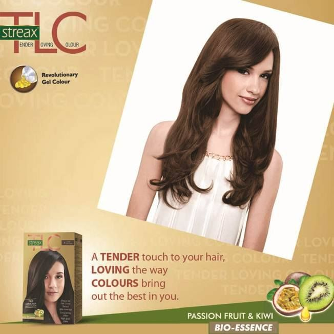 Gentle on the hair and easy to apply, #StreaxTLC has revolutionary gel colour that makes it the best hair colour.