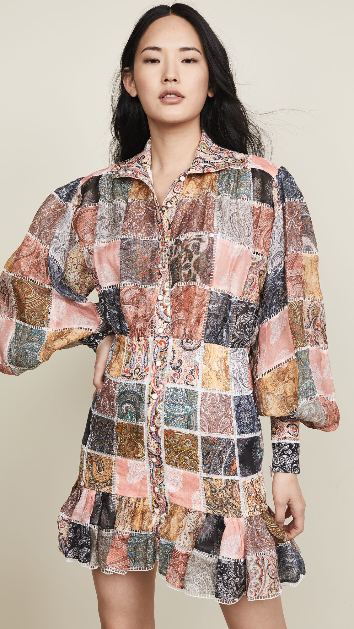 22402accfb69 Kollette - Zimmermann Ninety-Six Patch Mini Dress - The world's largest  fashion stores in one place!