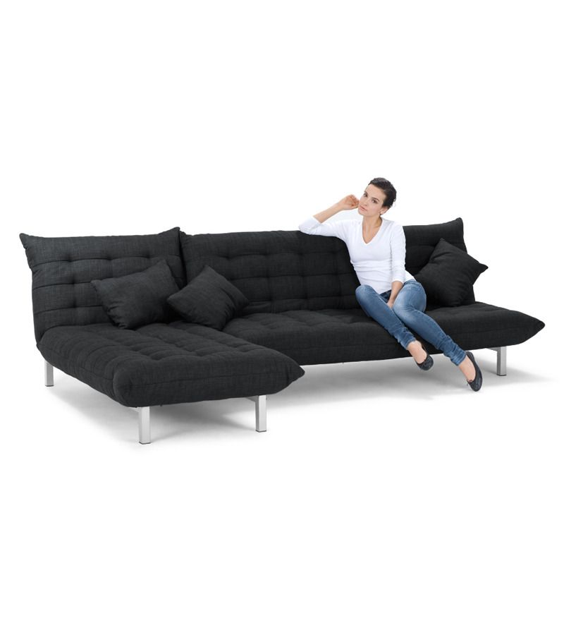 L Shaped Sofa Bed By Furny Online Sofa Cum Beds Furniture