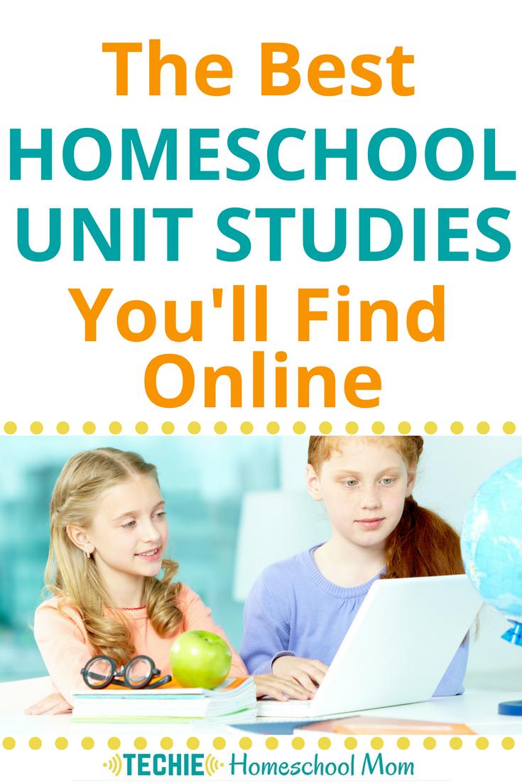 The Best Homeschool Unit Studies You Ll Find Online Homeschool