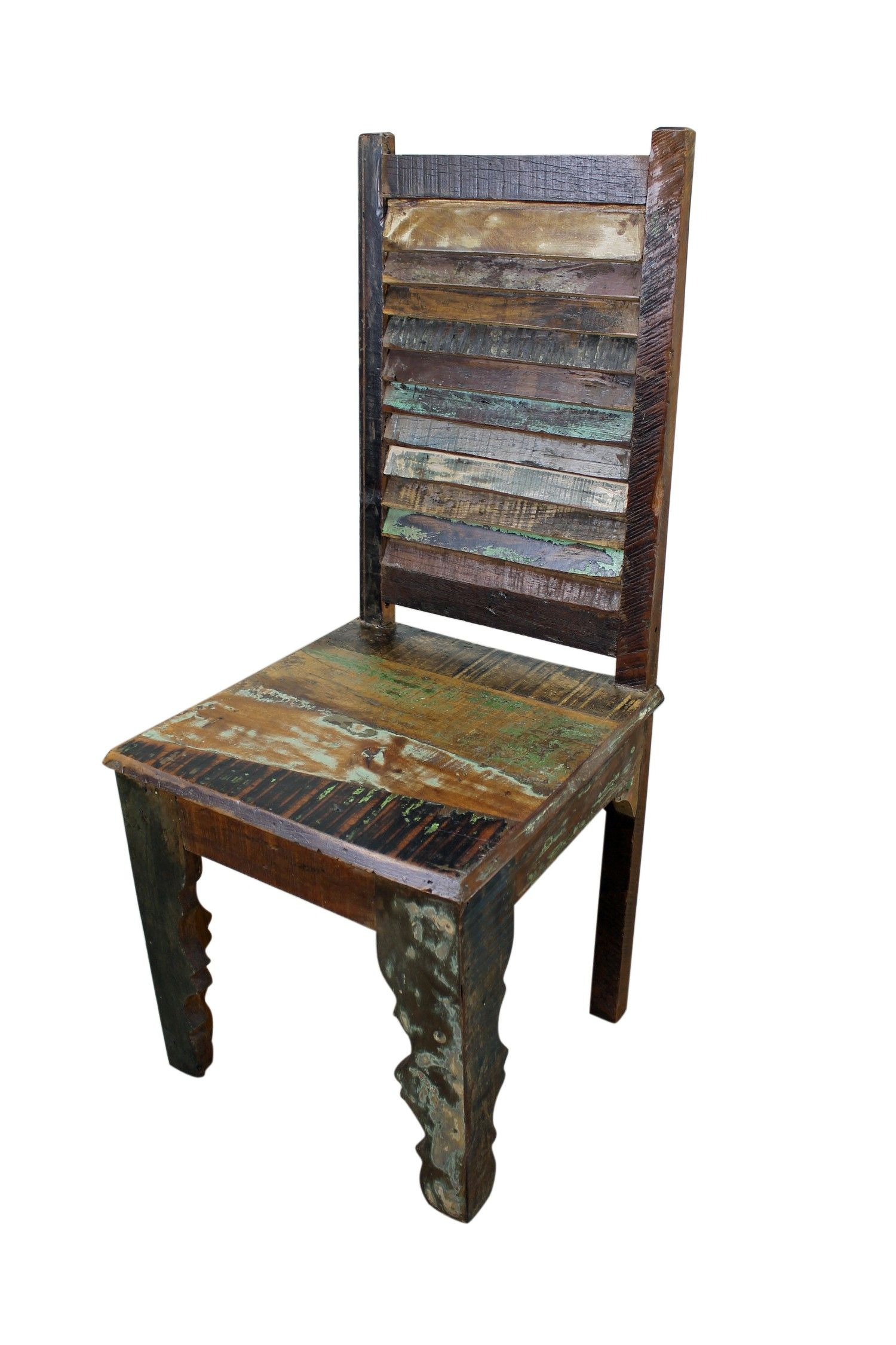 Superior Mexicali Rustic Wood Chair