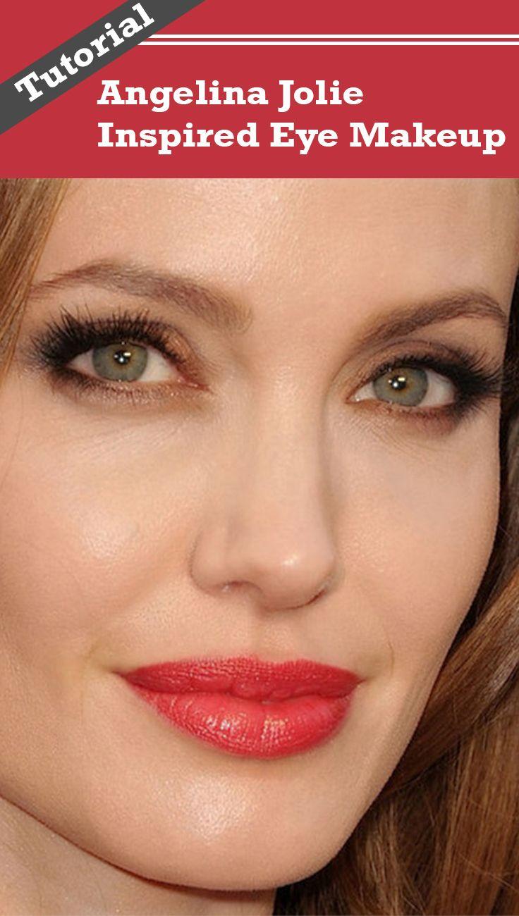 Angelina Jolie Eye Makeup A Step By Step Tutorial Eye