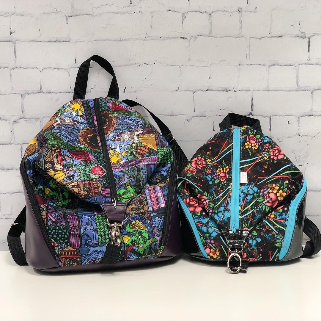 Single Strap Backpack Sewing Pattern- Fenix Toulouse Handball ef8597013eac6