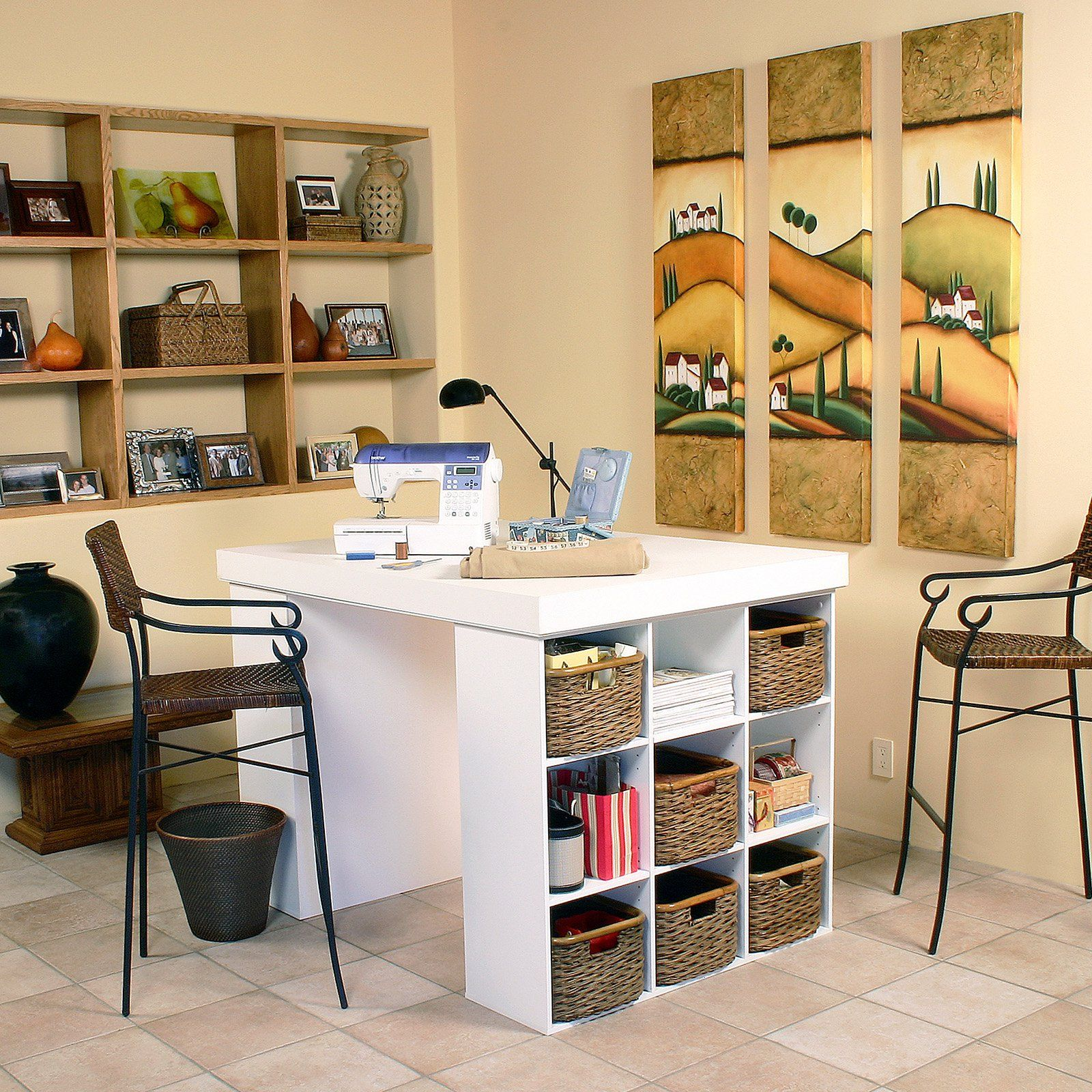 craft room ideas bedford collection. DIY Craft Room Table   Desk, Cube Shelving Unit And Easy Diy Crafts Ideas Bedford Collection C
