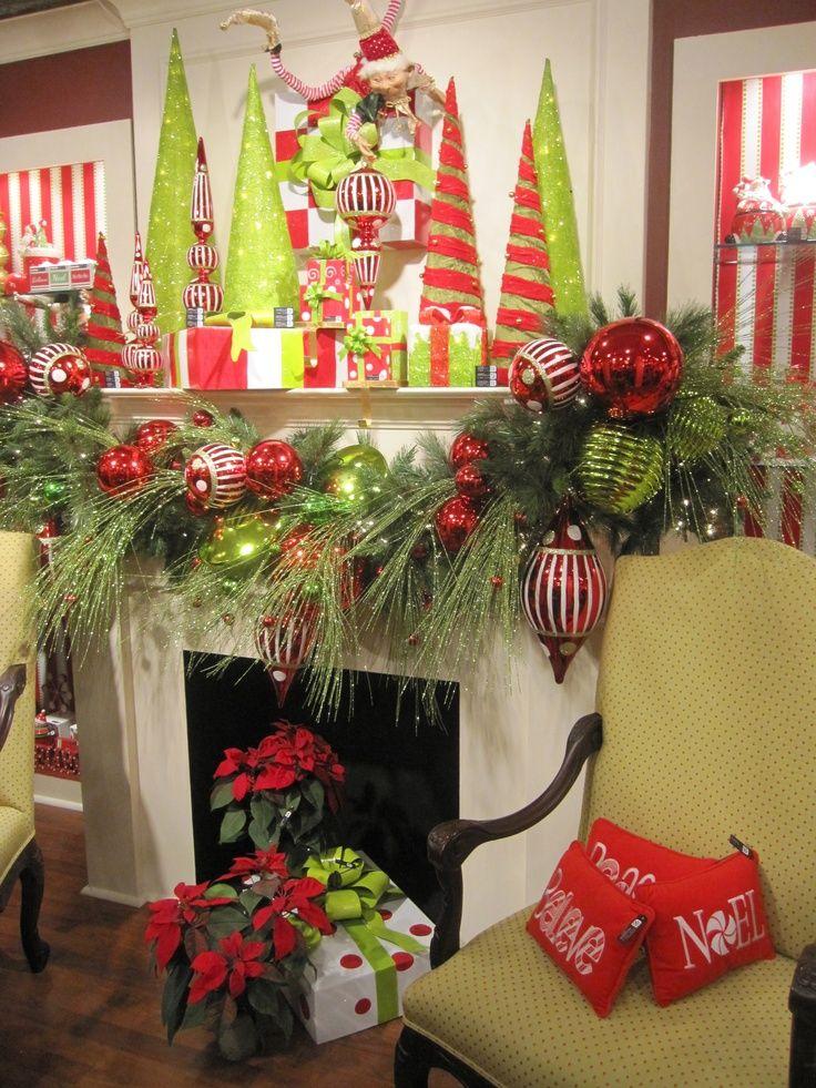 aad4a8863dc43b814e7819df159e20b9jpg (736×981) Christmas - decoraciones navideas para el hogar