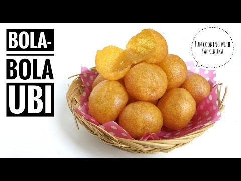 Resep Bola Bola Ubi Sweet Potato Balls Indonesian Street Food Youtube Street Food Stuffed Potato Balls Fun Cooking