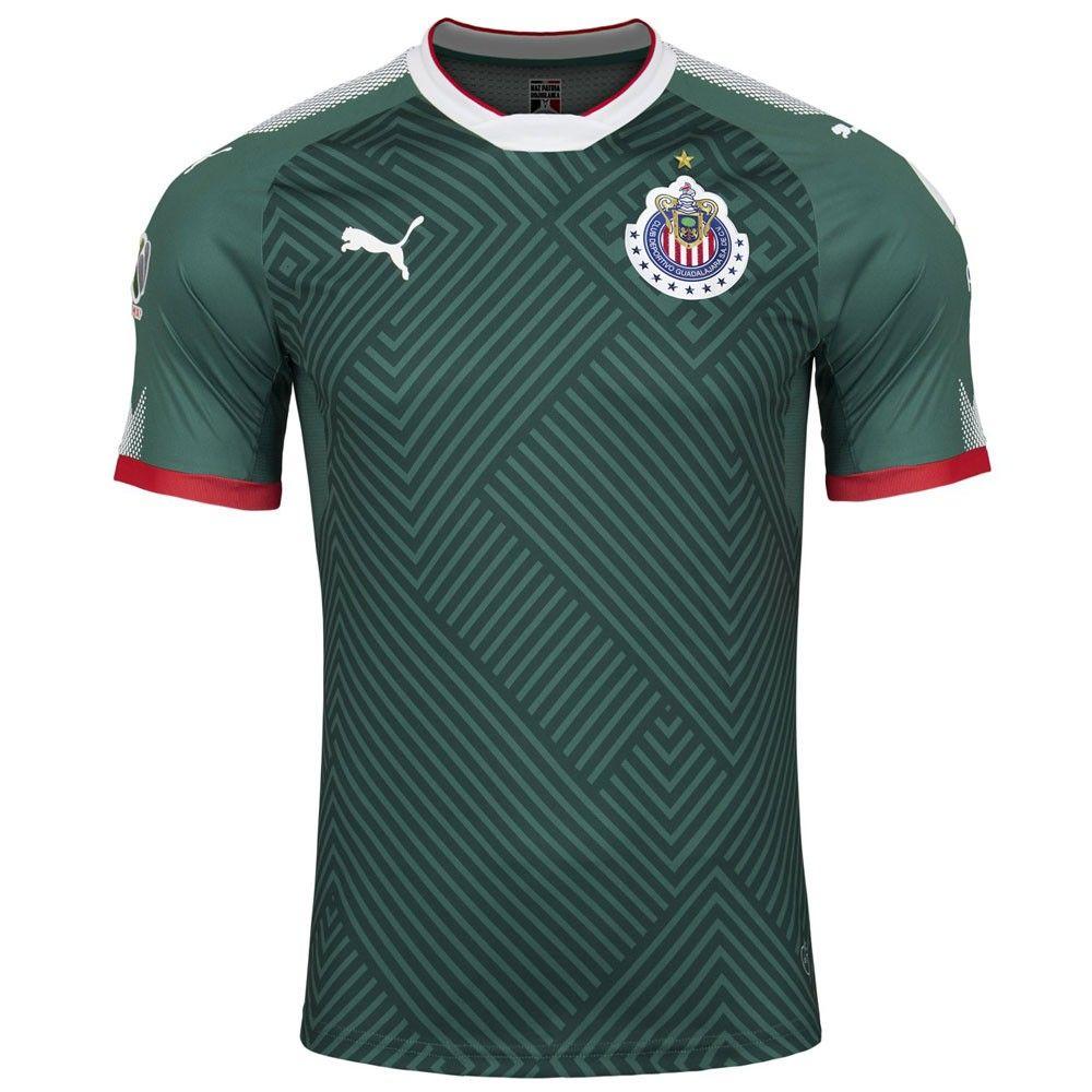 fb512d08db3 Puma Chivas Alternate Promo Jersey 17 18 - Green
