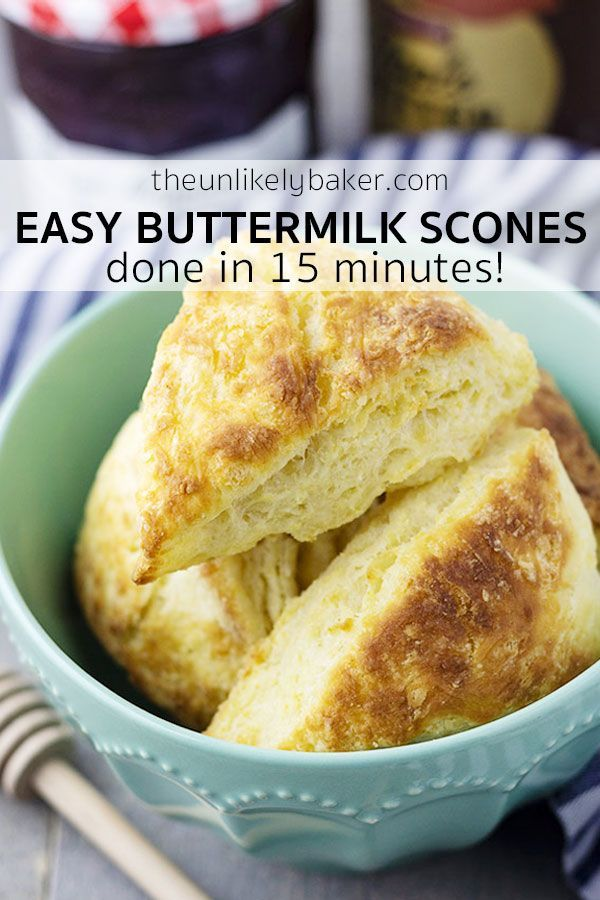 These Light Flaky And Easy To Make Classic Buttermilk Scones Are Perfect With Jam Lemon Curd Or Buttermilk Recipes Buttermilk Scone Recipe Scones Recipe Easy