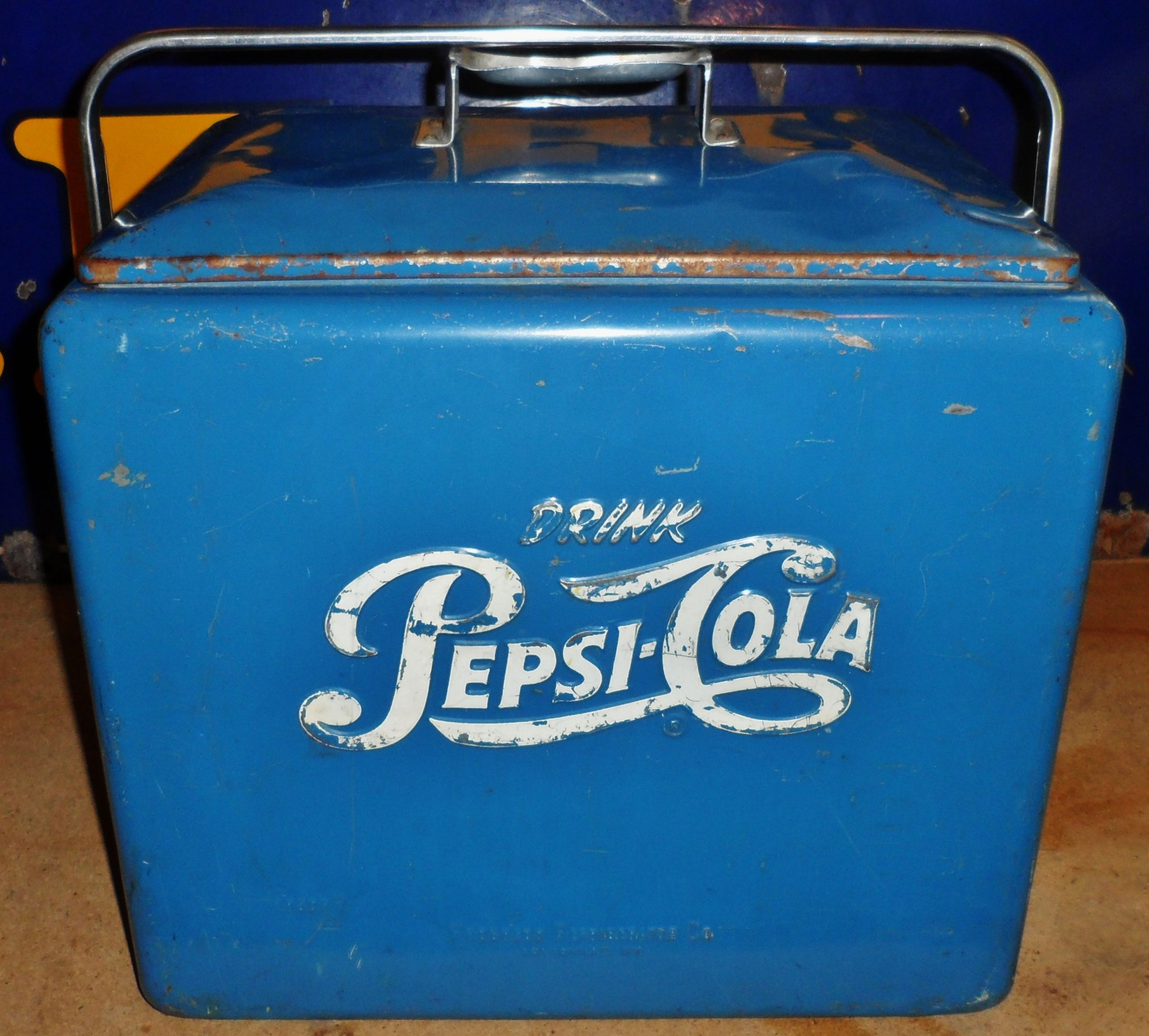Coca Cola Ice Chest Metal