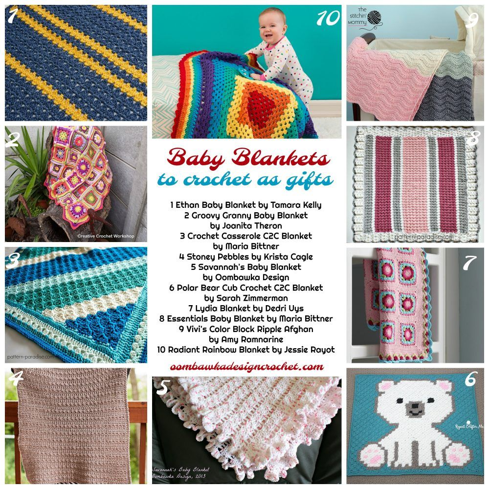 Crochet these Baby Blankets as Gifts this Year | Afghans | Pinterest
