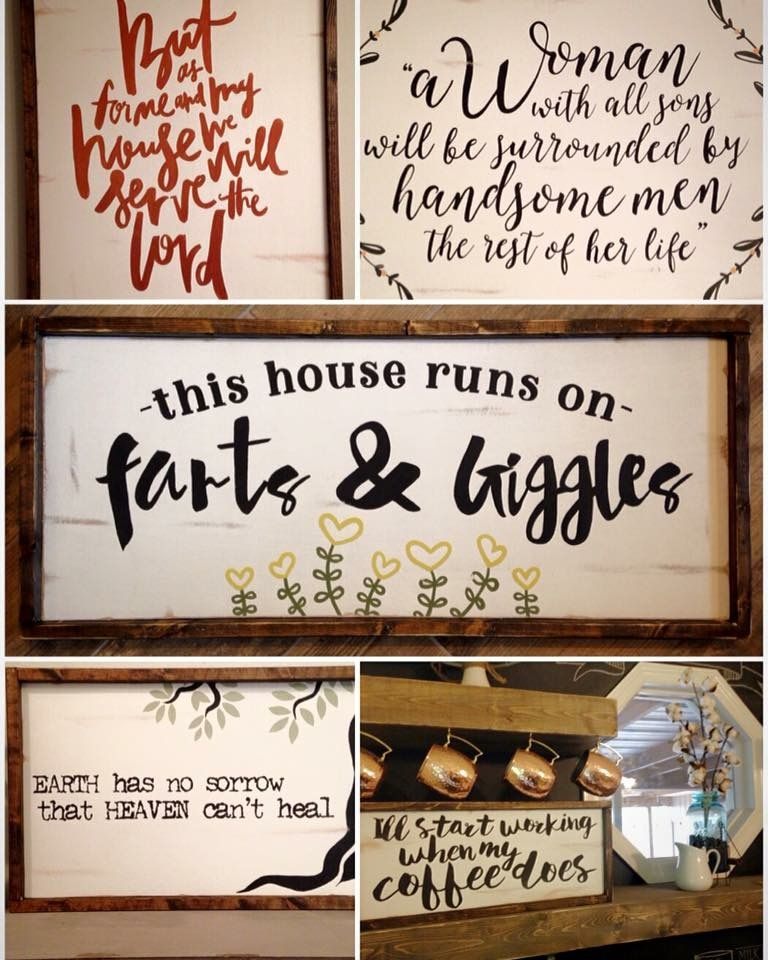 Pin By Carla Day On Diy Home Home Diy Signs Home Decor Signs