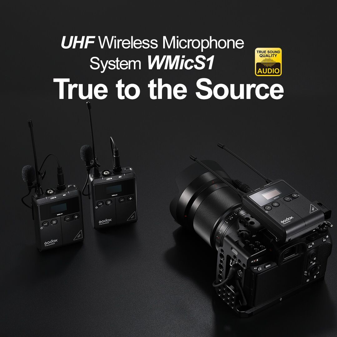New Godox Announces Its First Uhf Wireless Microphone System In 2020 Photo Equipment Microphone Wireless