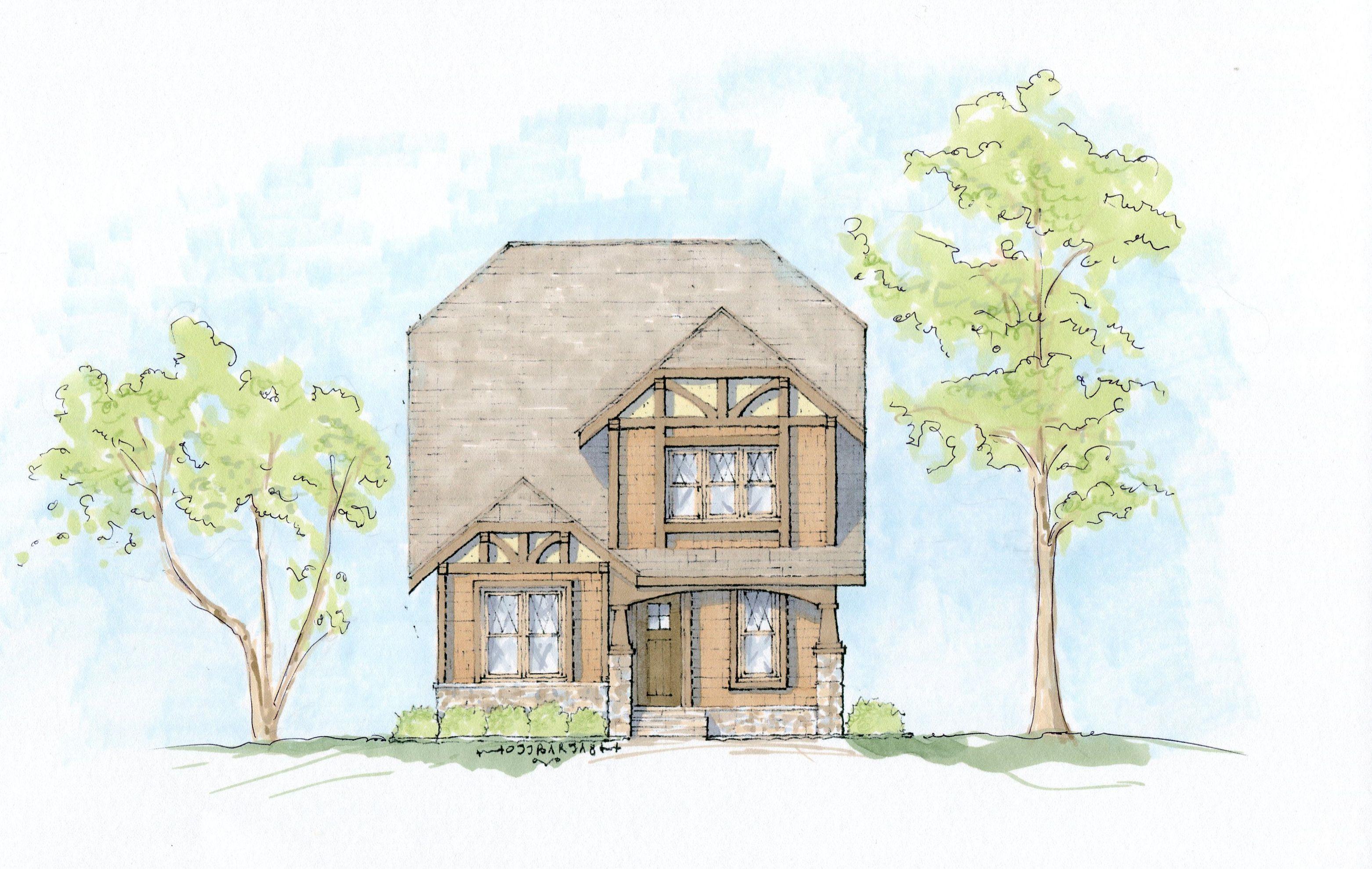 Plan 93046EL: English Tudor Craftsman House Plan | English tudor ...