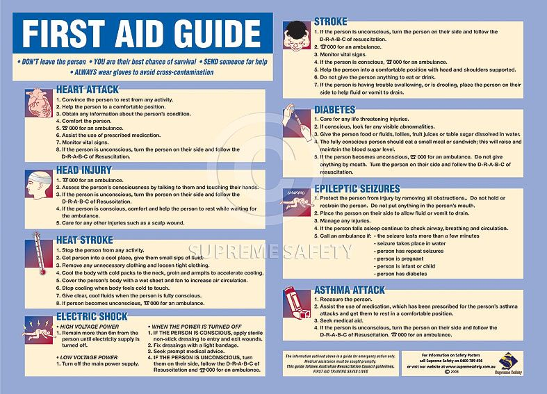 first aid course outline pdf
