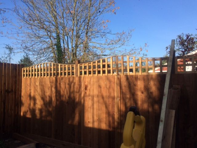 close board fencing and trellis manufacturers in north london